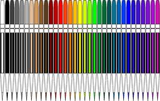 Free Colored Pencils Stock Image - 2344601