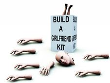 Free Build A Girlfriend Kit 52 Stock Photography - 2345362