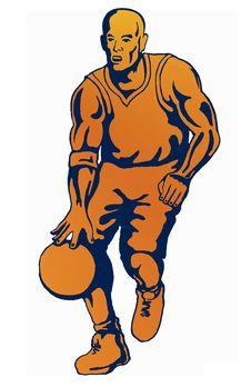Free Basketballer Dribbling Orange Royalty Free Stock Photography - 2345407