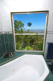 Free Bathroom With Views Stock Image - 2345521