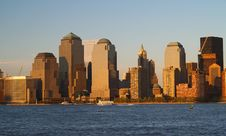 Free Lower Manhattan Skyline Royalty Free Stock Image - 2345546