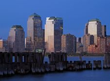 Free Lower Manhattan Skyline Stock Photos - 2345603