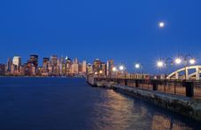 Free Lower Manhattan Skyline Stock Photo - 2345610