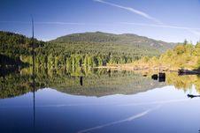 Free Lake S Mirroring Surface Royalty Free Stock Photo - 2346955