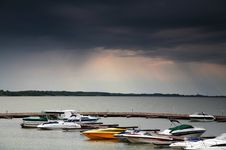 Free Boats In Harbour Royalty Free Stock Image - 2348016