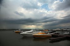 Free Boats In Harbour Stock Image - 2348021