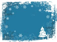 Free Grunge Christmas Frame Royalty Free Stock Images - 2348109