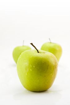 Free Green Apples Royalty Free Stock Image - 2348206