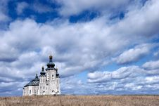 Free Cathedral Under Dramatic Sky Royalty Free Stock Image - 2349356