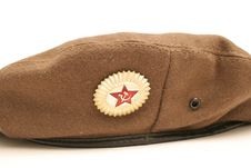 Free Russian Beret Upclose Stock Photography - 2349502