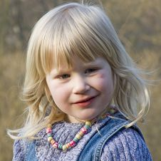 Free Thoughtfull Young Girl Stock Photos - 2349563