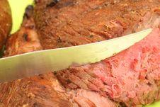 Free Cut Steak Upclose Royalty Free Stock Images - 2349889