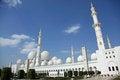 Free Grand Mosque National Landmark In Abu Dhabi Royalty Free Stock Image - 23408646