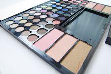 Free Make Up Palette Royalty Free Stock Image - 23400386