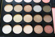 Free Make Up Palette Royalty Free Stock Photo - 23400625