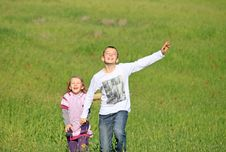 Free Brother And Sister Laugh Royalty Free Stock Photos - 23400698