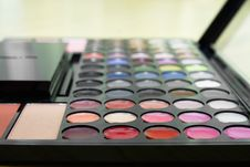 Free Make Up Palette Stock Photography - 23400752