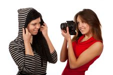 Free Photographer And Model Stock Image - 23403421
