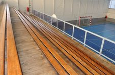 Free Wooden Grandstands Stock Photos - 23404403