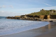 Free Porthmeor Beach St Ives, Cornwall Royalty Free Stock Images - 23404769