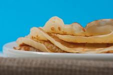 Free Pancakes On Plate Stock Photo - 23404980