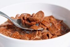 Free Chocolate Cornflakes Stock Images - 23405964