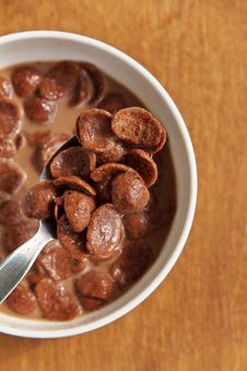 Free Chocolate Cereal Flakes Stock Photos - 23405983