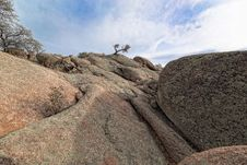AZ-Prescott- Granite Dells Royalty Free Stock Photography
