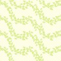 Free Seamless Vector Background With Leaves Royalty Free Stock Photography - 23413597