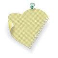 Free Paper Pinned Pushpin Stock Photo - 23419300