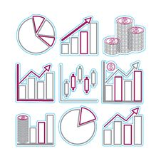 Free Graphs Royalty Free Stock Photography - 23410107