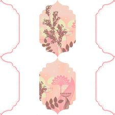 Free Pink Floral Bacground Stock Photography - 23411972