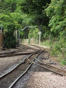Free Narrow Gauge Railway Tracks Stock Image - 23412271