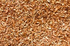 Free Brown Sawdust. Stock Photo - 23412320