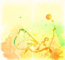 Free Colorful Watercolor Background Stock Photos - 23414053