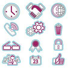 Free Icon Duoton 6.jpg Royalty Free Stock Photos - 23416358