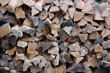 Free Choped Firewood Royalty Free Stock Images - 23416979