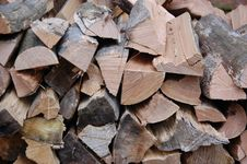 Free Choped Firewood Royalty Free Stock Images - 23417009