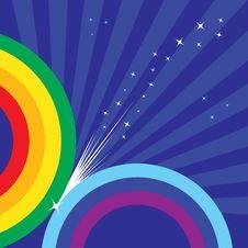 Sparkling Rainbow Royalty Free Stock Photo