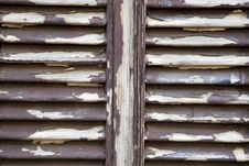 Free Peeling Shutters Stock Photo - 23418640