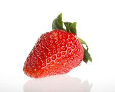 Free Fresh Strawberry Royalty Free Stock Photos - 23421468