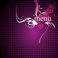 Menu 4 Stock Photography