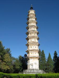 Free Chinese Pagoda Stock Photo - 23424200