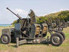 Free Anti Aircraft  Gun Stock Photos - 23424513