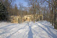 Ruin Villa Stock Images