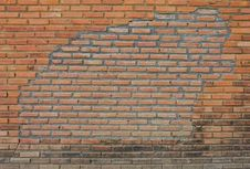 Free Old Brick Walls. Royalty Free Stock Photo - 23426205