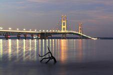 Free Mystic Bridge Stock Images - 23432304