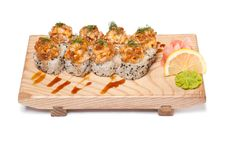 Free Maki Sushi - Roll Royalty Free Stock Photos - 23433348