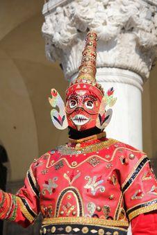 Free Asian Carnival Mask Stock Photo - 23437560