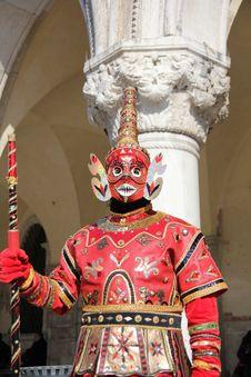 Free Asian Carnival Mask Stock Photo - 23437580